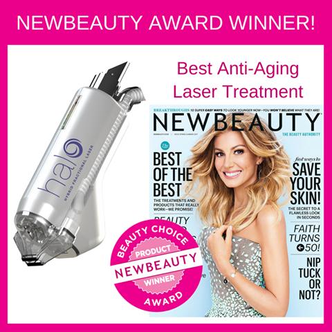 Halo Laser New Beauty Award